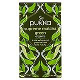 Pukka Oganic Supreme Matcha Green té, 20 bolsitas - 2 unidad