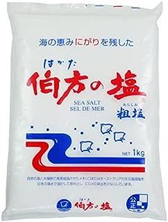 伯方の塩 粗塩 1kg /伯方の塩(12袋)