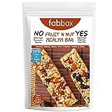FabBox Delicious Fruit N Nut Protein Health Bar - Almond, Walnut, Raisin, Rice Crispies, Honey & Dates | High Protein, Rich Fiber, Gluten Free, Keto Friendly, 120 gm