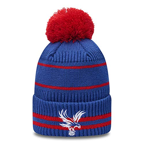New Era Wintermütze Bommel Beanie - Knit Crystal Palace FC