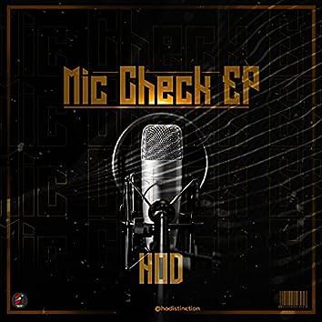 Mic Check EP