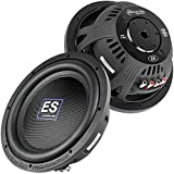 2 Pack American Bass 12' Slim Subwoofer 1500W Max Dual 4 Ohm Car Audio ES-1244