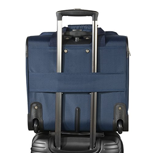 Olympia Under The Seat Carry-on, Navy, One Size