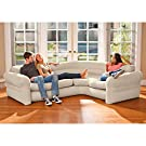 "Intex-Inflatable Corner-Sofa, 101"" X 80"" X 30"" #1"