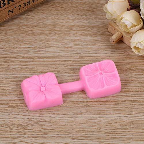 GMTEXTILES Formen Kuchen Dekoration Schablone Süßwaren Zuckerpaste 3D Kirschkuchen Form Silikon Formen Backwerkzeuge Zubehör