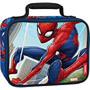 Thermos, Spiderman Classic Soft Lunch Kit, 9.5 x 3.75 x 7.5inch