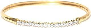 Zaveri Pearls Cuff for Women (Golden) (ZPFK4424)