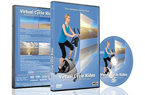 Paseos virtuales en bicicleta: playas australianas para caminatas de ciclismo indoor y entrenamientos de correr