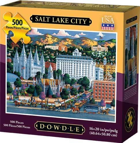 Dowdle Jigsaw Puzzle - Salt Lake City - 500 Piece