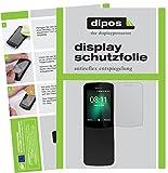 dipos I 6X Schutzfolie matt kompatibel mit Nokia 8110 4G Folie Bildschirmschutzfolie