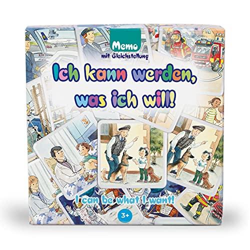 Ich kann werden, was ich will!, memo, 24 Karten