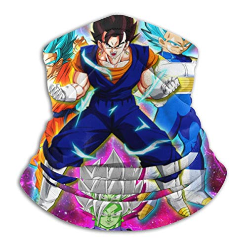 Reusable Dust-Proof Scarf For Outdoors Sports Dragon Ball Balaclava