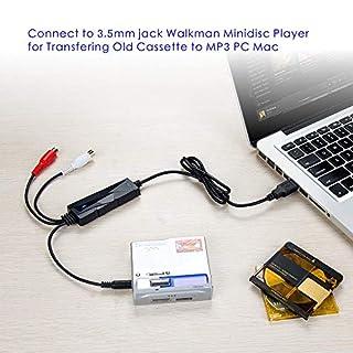 شراء V.TOP USB 2.0 Audio Capture Card with Music Editing Software for Cassette Player Recorder - Convert Cassette/Radio to MP3