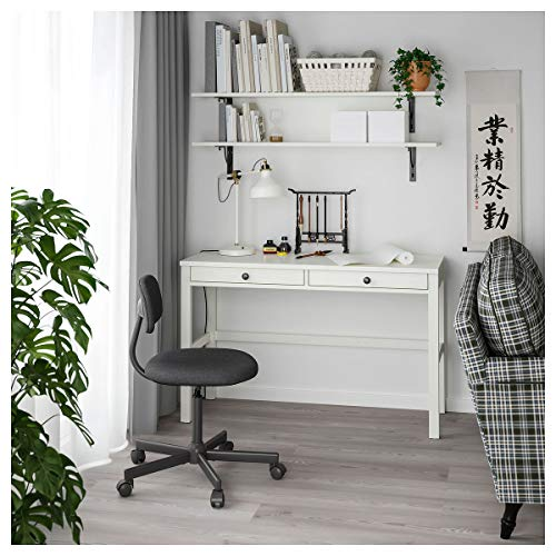 IKEA HEMNES biurko z 2 szufladami 120 x 47 x 75 cm biała plama.