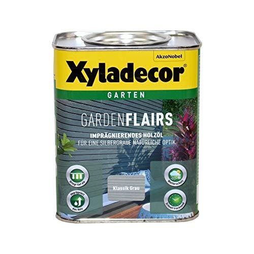 Xyladecor Garden Flairs 2,5L klassik grau Holzöl Imprägnierung Metalleffektöl