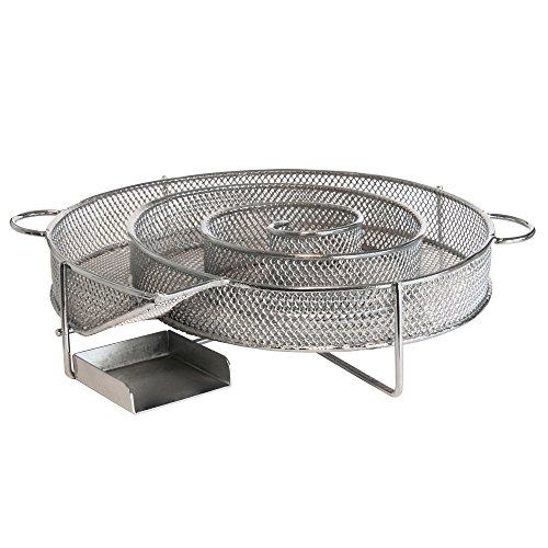 BBQ-Toro Ahumador en frío, Generador de humo frío para ahumar en frío, Ø 16 cm Cold Smoke Generator, Ahumador de alimentos, Horno para ahumar