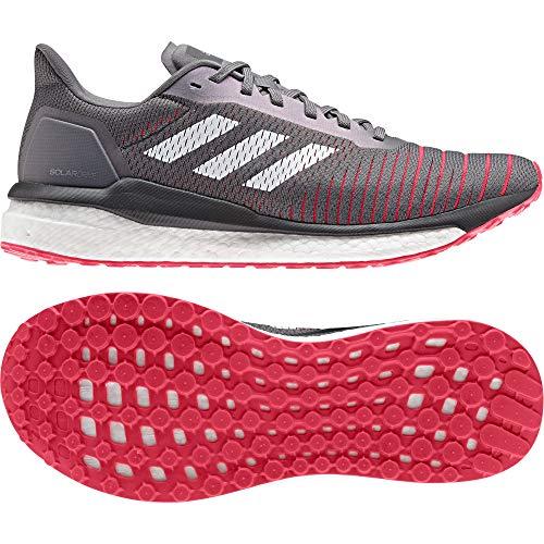 adidas Solar Drive Neutralschuh Herren - Grau, Weiß, Zapatillas de Running Calzado Neutro para Hombre