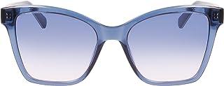 كالفن كلاين Ckj21627s نظارة شمسية نمط الفراشة للنساء