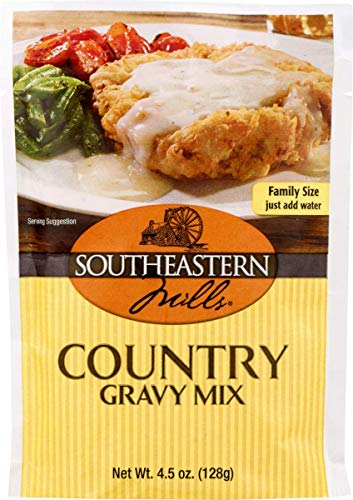 Southeastern Mills Country Gravy Mix 4.5 oz. Packets (3 Pack)