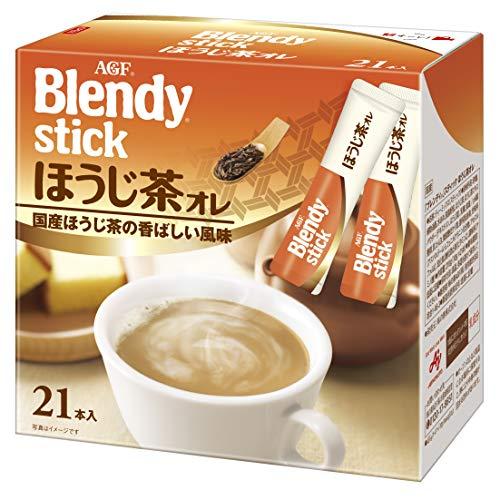 AGF blendy stick hojicha ole 21 x 3 boxes [houjicha powder]