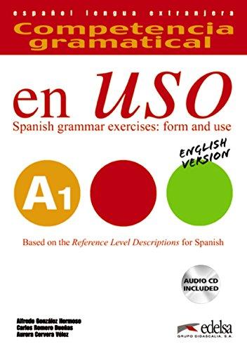 Competencia gramatical en uso A1 - libro del alumno + CD - Versión inglesa: Libro + CD - English version A1 (Gramática - Jóvenes y adultos - Competencia gramatical en uso - Nivel A1)