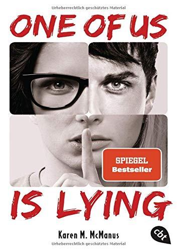 Buchseite und Rezensionen zu 'ONE OF US IS LYING' von Karen M. McManus