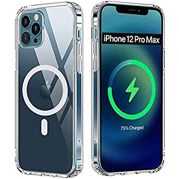 AmeriCase | Compatible for iPhone 12 Pro Max | Magsafe Case, Anti-Scratch Ultra-Clear Cover for iPhone 12 Pro Max | Clear