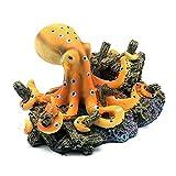 CIJK Simulaciones Ocean Octopus Design Adornos De Paisaje para La Decoración del Acuario De Peces