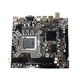 HOTPINK1 H81 Placa base Lga 1150 Dual Channel DDR3 1600/1333 Memoria USB 3.0 Ordenador Mainboard para Intel 1150 Core I3 I5 Ranura de memoria 2xDDR3 DIMM