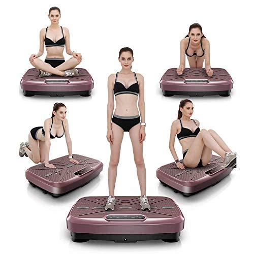 XBSLJ Vibrationsplatte Weight Loss Body Toning Vibration Power Plate Ultrakompakt Dünne Weight Loss Lose Fett Body Toning Machine Dünne Arme Dünne Taille Dünner Magen Swinging Platform Fitnessgerät