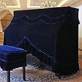 weiwei Estilo Europeo Piano A Prueba De Polvo Cubierta Decorada Cubre Toallas General Piano Muebles Cubra El Paño Y La Cubierta De Las Heces Set-a Funda De Piano + Funda De Taburete Doble 76 * 36