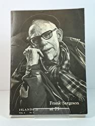 "Cover of ""Frank Sargeson at 75: Islands 21: A New Zealand Quarterly of Arts and Letters: Volume 6, Number 3, March 1978."""