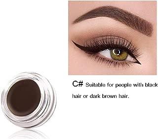 Cawbing Eyeliner Cream Waterproof Smudge-proof Easy To Color Long-lasting Eyeliner Dyeing Gel