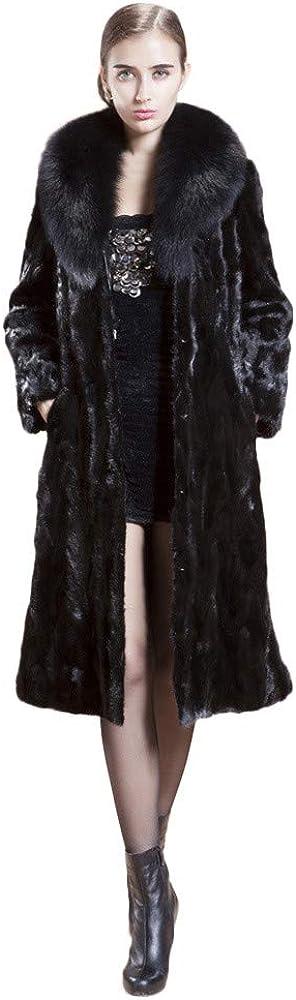 YKARITIANNA Women Turn Down Max 90% OFF 25% OFF Collar Thicken Warm Long Roomy Soft