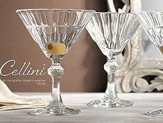 Home Essentials & Beyond 9561 Martini Glass, Set Of 4 - 8 oz.