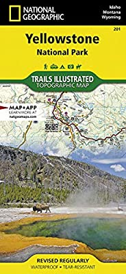 Yellowstone National Park (National Geographic Trails Illustrated Map, 201) by National Geographic Maps