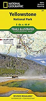 Yellowstone National Park  National Geographic Trails Illustrated Map 201