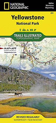 Yellowstone National Park: National Geographic Trails Illustrated National Parks (National Geographic Trails Illustrated Map, Band 201)