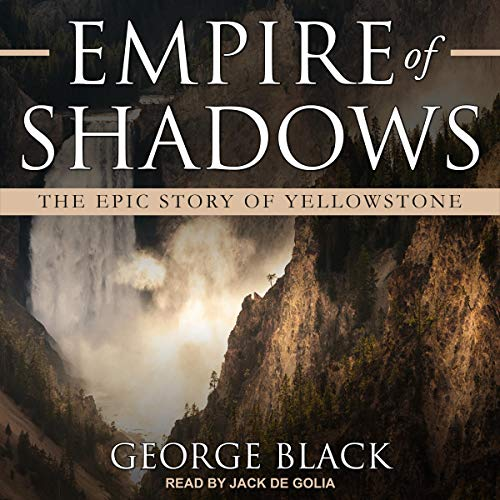 Empire of Shadows audiobook cover art