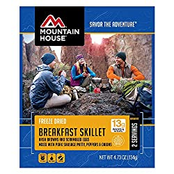 Mountain House food products for the Amazon bug out bag list