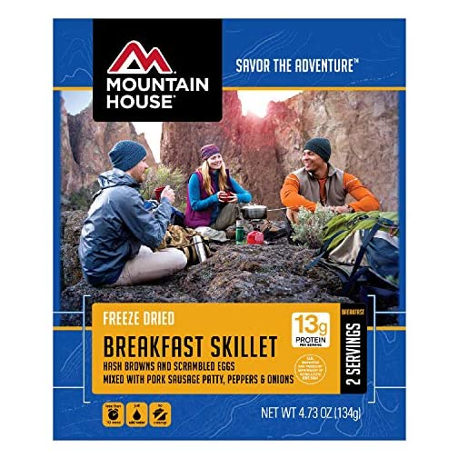 Mountain House Breakfast Skillet | Freeze Dried Backpacking and Camping Food 3