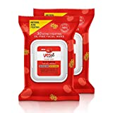 Yes To Tomatoes Clear Skin Acne Fighting Facial Wipes 30 Ct, 2 Pack + Acne Prone Skin + Helps Control Oil + Salicylic Acid + 95% Natural Ingredients