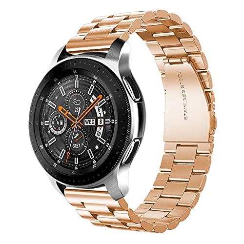 KESHIKUI New Mei 20 mm / 22 mm de Reloj Fit para Samsung Gear S3 Galaxy Watch 4/4 Classic 3 / 46mm / 42mm / Activo 2 44mm Banda 40 mm Huawei GT / GT2 / 2e / Pro Banda