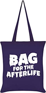 Bag for The Afterlife Tote Bag Purple 38 x 42cm