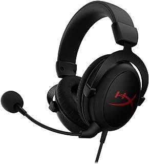 HyperX Cloud Core 7.1. Auriculares para Gaming con Sonido Surround Virtual 7.1, Memory Foam, Controles de Audio Avanzados, Micrófono Desmontable con Cancelación de Ruido