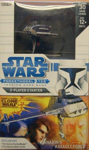STAR WARS POCKET MODELS 2 PLAYER STARTER ANAKINS ASSAULT CLOSEOUT PRICE!