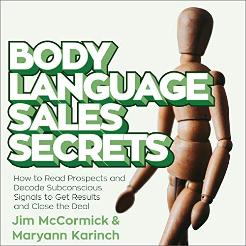 Couverture de Body Language Sales Secrets