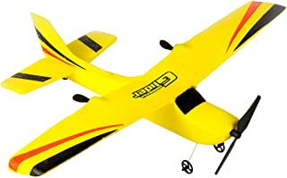 Pinleg RC Airplane 2CH Gyro RTF Remote Control Glider 350mm Wingspan EPP Micro Indoor RC Airplane Shipped by US (Red)