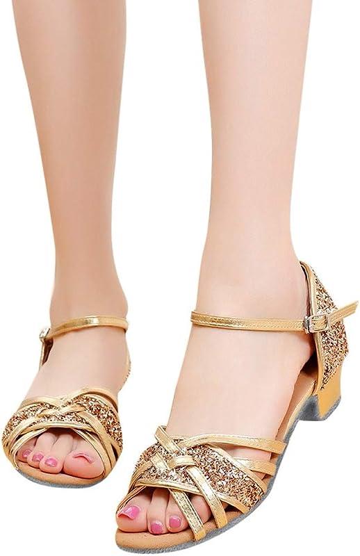 Amlaiworld Women Summer Shoes Fashion Dancing Rumba Waltz Prom Ballroom Latin Salsa Dance Shoes Sandals