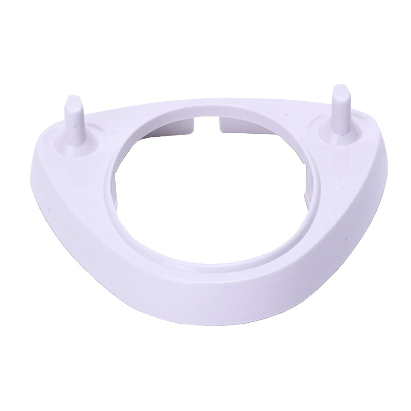 奇跡的なスポーツ笑白いハードプラスチックスタンド for ブラウンオーラルB電動歯ブラシ充電器 by Kadior